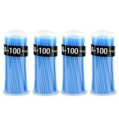 Jual 400 Buah Aplikator Mikro Sikat Gigi Tips Biasa Pengguna 100 4 Botol Biru Antik