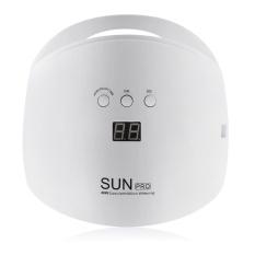 48 W Portable Gel Polish LED Nail Dryer Curing Lampu Mesin Fototerapi-Intl