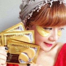 4pcs - Masker Mata Kristal Kolagen/Gold Eye Crystal Collagen Mask Lazpedia