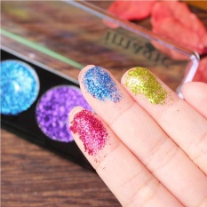 Harga 5 Warna Glitter Bright Rainbow Eyeshadows Kosmetik Makeup Pressed Glitters Diamond Rainbow Eye Shadows Palette Set Warna 3 Oem Tiongkok