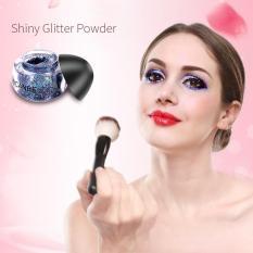 5 Warna Eyeshadow Berkilau Bubuk Bersinar Mata Shadow Stage Berkilau Bubuk Kuku Seni Berkilau-Internasional