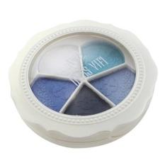 5 Warna Bunga Berbentuk Profesional Natural Matte Makeup Eye Shadow-Intl