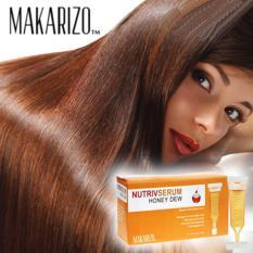 Jual 5 Pcs Makarizo Honey Dew Nutriv Serum Memperbaiki Rambut Rusak Di North Sumatra