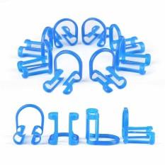 50 Pcs Disposable Katun Gulungan Penahan Klinik Gigi Set Perawatan Kesehatan Gigi Biru-Internasional
