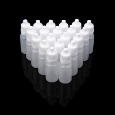 Jual 50 Pcs 10 Ml Kosong Plastik Squeezable Botol Tetes Mata Liquid Dropper Intl Antik