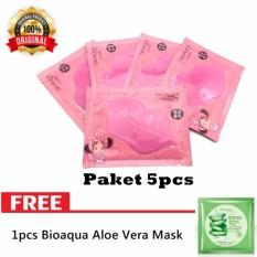 5pcs Masker Bibir Collagen Nourish Lips Membrane Mask - Masker Bibir Pink