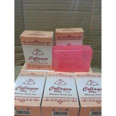 Spesifikasi 5Pcs Sabun Collagen Collagen Plus Vit E Pemutih Kulit Wajah 100 Original
