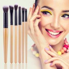 6 Buah Pensil Make Up Set Kuas Perona Mata Kuas Bibir