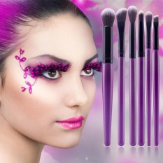 6 Buah Kuas Perona Bibir With Pensil Rias Set Sikat