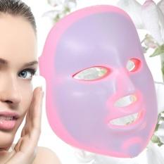 7 Warna 5 Tingkat Dimmable Timing PDT Perawatan Kulit Wajah Light LED Home Gunakan Setiap Hari Foton Terapi Kecantikan Masker Lampu dengan Controller Jerawat Anti Penuaan Kerut Penghapusan Peremajaan-Intl
