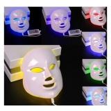 Obral 7 Warna Lampu Foton Pdt Electric Led Beauty F*c**l Wajah Topeng Kulit Peremajaan Wajah Anti Jerawat Kerut Penghapusan Putih Intl Murah