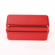 72 Lubang Dental Bur Holder Box 135℃ Autoclave Disinfeksi Case-Intl