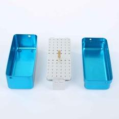 72 Lubang Bur Gigi Kotak Penyimpanan 135℃ Autoclave Disinfeksi-Intl