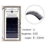 Spesifikasi 8 13Mm Dicampur Berukuran Makeup Individu Eyelashes Mink Mata Bulu Mata Ekstensi 15 C Murah