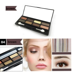 8 Warna Eyeshadow Eye Shadow Kosmetik Palet untuk Rumah dan Penggunaan Profesional-Intl