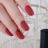 Diskon Besar8 Warna Opsional 6 Ml Scrub Botol Matte Wanita Nail Art Polish D Intl