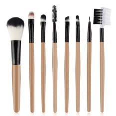 8pcs Makeup Brushes Set Foundation Eyeshadow Eyeliner Eyebrow Lip Eyelashes Brush