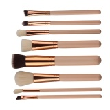 Jual 8Pcs Mini Cosmetic Eyebrow Eyeshadow Brush Makeup Brush Sets Kits Tools Intl Ori