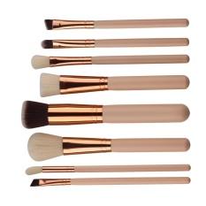 Toko 8Pcs Mini Cosmetic Eyebrow Eyeshadow Brush Makeup Brush Sets Kits Tools Intl Lengkap Tiongkok