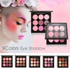 Perbandingan Harga 9 Warna Eye Shadow Palet Nada Bumi Shimmer Matte Pigment Glitter Eyeshadow Metallic Harian Artist Makeup Set 1 Intl Di Tiongkok
