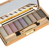 Beli 9 Colors Shimmer Eyeshadow Eye Shadow Palette Makeup Cosmetic Brush Set Intl Cicil