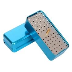 Jual A 72 Holes Autoclave Sterilizer Case Dental Aluminium Endo Files Holder Box Blue Intl Original