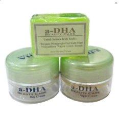 Spesifikasi A Dha Cream Pemutih Kulit Paket Ekonomis Hijau Original A Dha White Series Terbaru