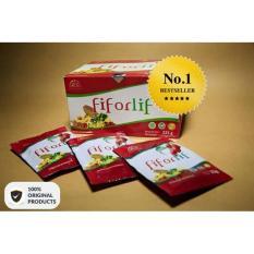 ABE - Fiforlif Original - Obat Diet Detoksifikasi Dokter Pelangsing Herbal Pencuci Perut Usus Kotor - Pengecil Perut Buncit Pria Wanita - Obat Pencahar Herbal Tradisional