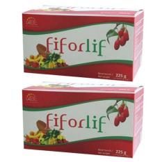 Abe Fiforlif - Paket 2 Box Super Fiber & Detox 100% Original Kaya Nutrisi 15 Sachet/box