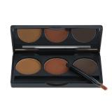 Jual Abody Professional 3 Warna Alis Mata Alis Shadow Palette Eyeliner Bedak Alami Coffee Brown Warna Kosmetik Alat Makeup Kit Dengan Brush Cermin Internasional Murah
