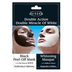 Activa Double Action Mask Double Miracle Of White Mask (1 Set 2 Masker)