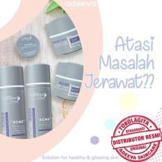 Obral Adeeva Skincare Acne Paket Basic Jerawat Tanpa Serum 5 Pcs Murah