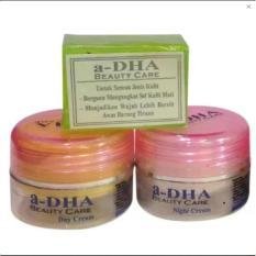 Adha Paket Cream Pemutih Wajah - Pink [40 Tahun Kebawah] EKONOMIS