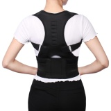 Model Adjustable Posture Corrector Magnetic Position Correction Brace Support Back Belt Intl Terbaru