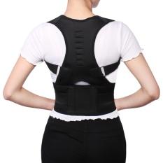 Harga Adjustable Posture Corrector Magnetic Position Correction Brace Support Back Belt Intl Fullset Murah