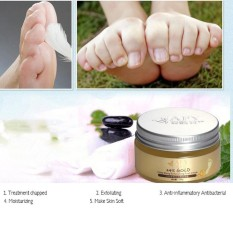 AFY 24K Gold Essence Foot Cream Exfoliating Dead Skin Removal Foot Massage Cream - intl