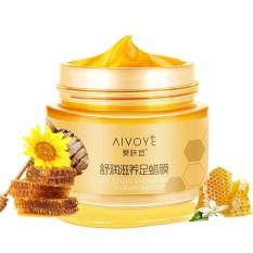 AFY Milk Honey Moisturizing Foot Wax Exfoliating Dead Skin Cream - intl