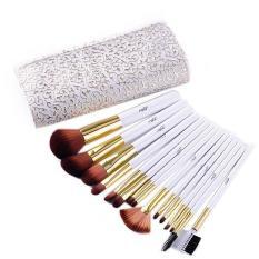 Ai Home 15 Pcs Pro Kosmetik Makeup Brush Set Dengan Tas Putih Ai Home Diskon