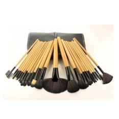Beli Ai Home 24 Pcs Makeup Brushes Kosmetik Tool Set Aksesoris Kecantikan Kayu Warna Brush Set Hitam Intl