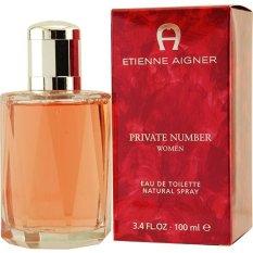 Harga Aigner Private Number Women Edt Product 100Ml Origin