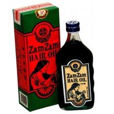 Jual Air Zam Zam Oil Penyubur Penumbuh Rambut Jenggot Jambang Kumis 115Ml Ori
