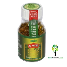 Al Arobi Minyak Zaitun  200 Kapsul Obat Diabetes, Kanker, Kolesterol dan Jantung