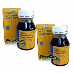 Review Toko Al Mabruroh Madu Penyubur Kandungan 350 Gr 2 Botol Online