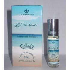 Al Rehab ZAHRAT HAWAII  - Parfum Non Alkohol 6 Ml - Minyak Wangi Arab