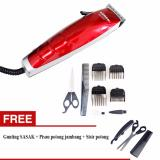 Jual Alat Cukur Rambut Sonar Sn Hair Trimmer New Model Gratis Gunting Sasak 3 In 1 Sonar Original