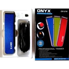Harga Alat Cukur Terlaris Onyx 216 Rechargeable Alat Cukur Rambut Jenggot Potable Multifungsi Baru Murah