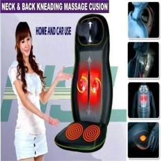 Harga Alat Kursi Pijat Punggung Shiatsu Cushion Back Massager Pakai Dirumah Seken