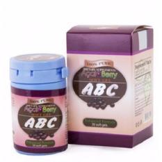 ALFATI_236 - Pil Pelangsing Tubuh ABC Acai Berry Dietary Suplement Soft Gel -