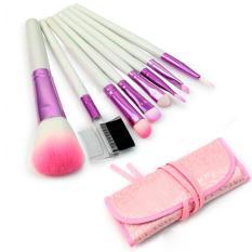 Beli Alila Kuas Make Up Brush Make Up 8 Set Dengan Pouch Pink Online