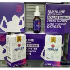 Alkaline Drop Mineral Alkaline Drop – PAHE 2 Botol @15 ml Terapi Air pH Basa Antioksidan tinggi,  Micro Cluster, Active Hidrogen Oxygen  Grosir Zam Zam